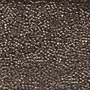 Miyuki Delica Beads 2,2mm DBM1852 Duracoat galvanized Smokey Pewter ca 7,2 Gr.