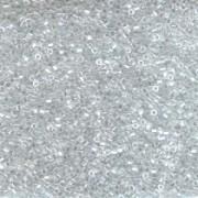 Miyuki Delica Beads 1,6mm Hexcut DBC0050 luster Crystal 5gr