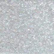 Miyuki Delica Beads 1,6mm Hexcut DBC0051 transparent rainbow Crystal 5gr