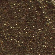 Miyuki Delica Beads 1,6mm Hexcut DBC0115 transparent luster Gold Rose 5gr