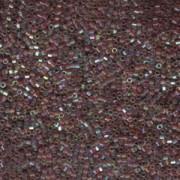 Miyuki Delica Beads 1,6mm Hexcut DBC0122 transparent luster rainbow golden Brown 5gr