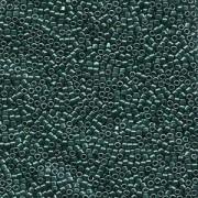 Miyuki Delica Perlen 1,6mm DB0458 galvanized Dark Green 5gr