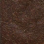 Miyuki Delica Beads 1,6mm DB0709 transparent dark Amber 5gr