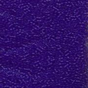 Miyuki Delica Beads 1,6mm DB0748 transparent matt Cobalt Blue 5gr