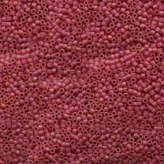 Miyuki Delica Beads 1,6mm DB0874 opaque rainbow matt Berry 5gr