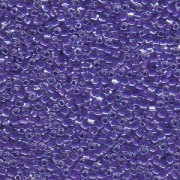 Miyuki Dreieck Beads, Triangle Beads 2,5mm 1123 colorlined Purple 13gr