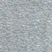 Miyuki Dreieck Beads, Triangle Beads 2,5mm 1151 transparent rainbow Clear 13gr