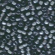 Miyuki Dreieck Beads, Triangle Beads 2,5mm 1841 Black Grey 13gr