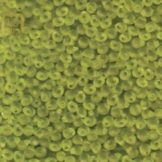 Miyuki Drop Beads 2,8mm 0143F transparent matt Lime 9gr.