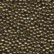 Miyuki Drop Beads 2,8mm 0457 metalic Bronze 9gr.