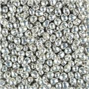 Miyuki Drop Beads 2,8mm 4201 DURACOAT galvanized Silver 9gr.