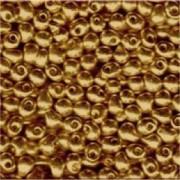 Miyuki Drop Beads 2,8mm 4202 DURACOAT galvanized Gold 9gr.
