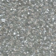 Miyuki Drop Beads 3,4mm 0001 transparent silverlined Clear 10gr