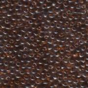 Miyuki Drop Beads 3,4mm 0134 transparent Plum Amber 10gr