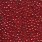 Miyuki Drop Beads 3,4mm 0140 transparent Red ca 10gr