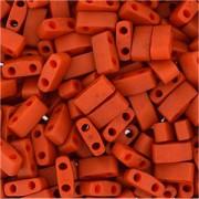 Miyuki Halb Tila Beads 2,2x5mm burnt Sienna HTL2315 ca 7,8gr
