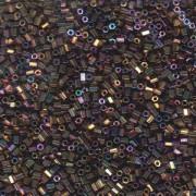 Miyuki Hexagon Beads 11C-0188 2mm rainbow metallic Purple Gold ca10gr