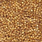 Miyuki Hexagon Beads 8C-0191F 3mm metallic matte 24 Karat vergoldet 11gr