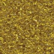 Miyuki Magatama Beads 4mm 0006 silverlined Yellow ca 24gr