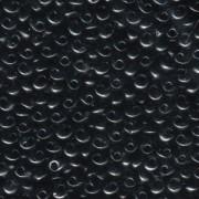 Miyuki Magatama Beads 4mm 0401 Black ca 24gr