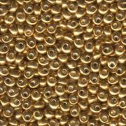 Miyuki Magatama Beads 4mm 1053 metallic Gold ca 24gr