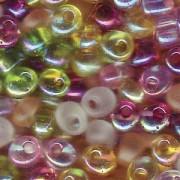 Miyuki Magatama Beads 4mm Mix Tango ca 25 Gr.