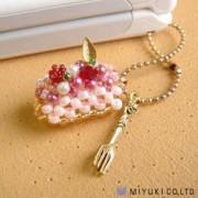 Miyuki Minicake Charm Kit Strawberry Minicake Roll