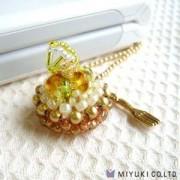 Miyuki Minicake Charm Kit Fresh Lemon Tart