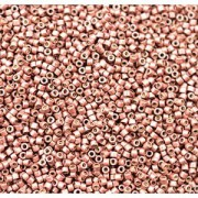 Miyuki Delica Beads 1,6mm DB1842F Duracoat frosted galvanized Dark Berry ca 7,2 Gr.