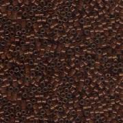 Miyuki Delica Beads 1,6mm DB1391 colorlined sparkly Peridot Bronze ca 5gr