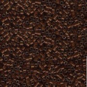 Miyuki Delica Beads 1,6mm DB1393 colorlined sparkly Golden Brown Chocolate ca 5gr