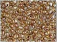 Miyuki Tropfen Beads 3,4mm 4505 transparent light Smoky Topaz Picasso ca 10gr