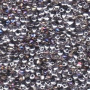 Miyuki Tropfen Beads 3,4mm 4554 Crystal Heliotrope ca 10gr