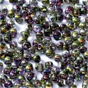 Miyuki Tropfen Beads 3,4mm Czech Coating 4571 Crystal Magic Orchid ca 10 gr