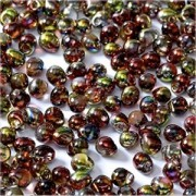 Miyuki Tropfen Beads 3,4mm Czech Coating 55016 Crystal Magic Apple ca 10 gr