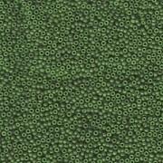 Miyuki Rocailles Beads 1,5mm 1488 dyed opaque Forest ca 11gr