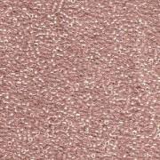 Miyuki Rocailles Beads 1,5mm 1524 sparkle rosalined Crystal ca 11gr