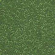 Miyuki Rocailles Beads 1,5mm 1642 silverlined semimatt dark Green ca 11gr