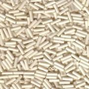 Miyuki Stäbchen Bugle Beads 6mm 2021 opaque matt Cream ca 10gr