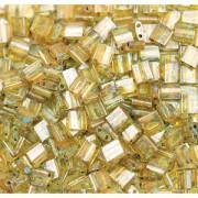 Miyuki Tila Picasso Beads 5mm transparent Saffran TL4502 ca 7,2gr