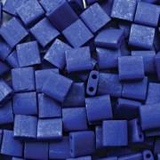 Miyuki Tila Beads 5mm matt Cobalt TL2075 ca 7,2gr