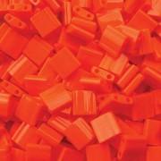 Miyuki Tila Beads 5mm opaque Orange TL0406 ca 7,2gr