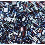 Miyuki Tila Picasso Beads 5mm transparent Garnet TL4504 ca 7,2gr