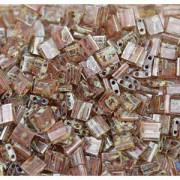 Miyuki Tila Picasso Beads 5mm transparent smoked light Topaz TL4505 ca 7,2gr