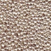 Miyuki Tropfen Pearls 2,8mm 0181 galvanized Silver 9gr.