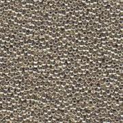Miyuki Rocailles Beads 4mm 4201 Duracoat galvanized Silver 20gr