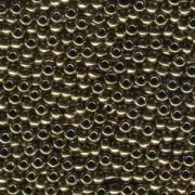 Miyuki Rocailles Beads 4mm 0457 metallic Bronze ca 20gr
