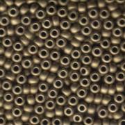 Miyuki Rocailles Beads 4mm 1255 metallic matte Bronze ca 20gr