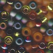 Miyuki Rocailles Beads 4mm Mix07 Earthtone ca 20 Gr.