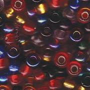 Miyuki Rocailles Beads 4mm Mix16 Rainbow ca 20 Gr.